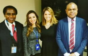 K Desoto at the UN