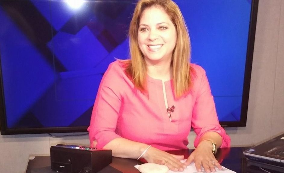 Karen DeSoto on air NBC News desk